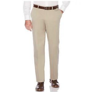 Savane Men's Flat Front Chino Pants